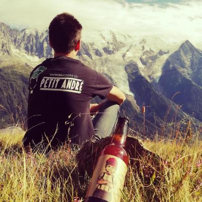 mont blanc alpes savoie bière microbrasserie petit andré